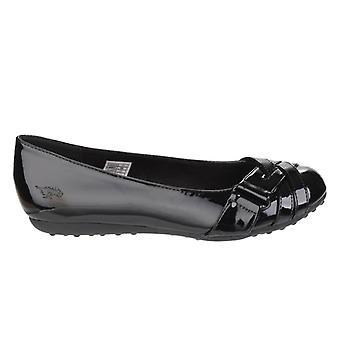 Cohete perro mujeres/damas rebelde resbalón en los zapatos de la bailarina