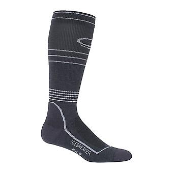 Eisbrecher Monsoon Mens Hike + Light Cushion Compression Over The Calf Socks