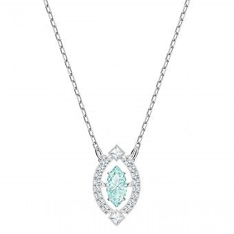 Swarovski necklace and pendant 5485721 - M tal Silver Crystals Tincing Women