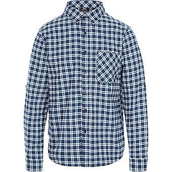 Trespass Herren Sailfoot Button Down Long Sleeve Casual Shirt