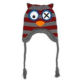 Laplander Beanie Cap - Bioworld - New Owl Head Wear Anime Hat kc164324gen