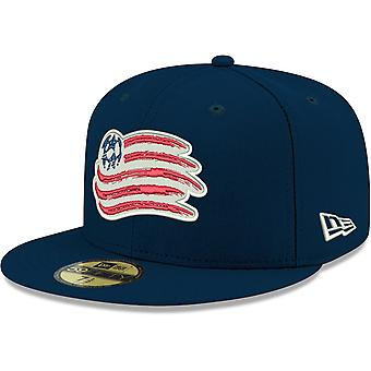 New Era 59Fifty Fitted Cap - MLS New England Revolution navy