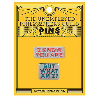 Pin Set - UPG - I Know You Are But What Am I Pins 5221