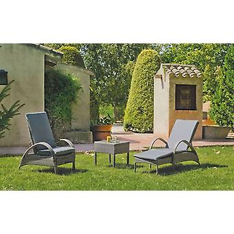 Wellindal Auxiliary table padova-50 50x50 (Garden , Others)