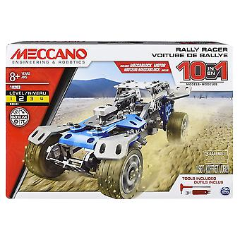 Meccano 10 Model Set - Rally Racer