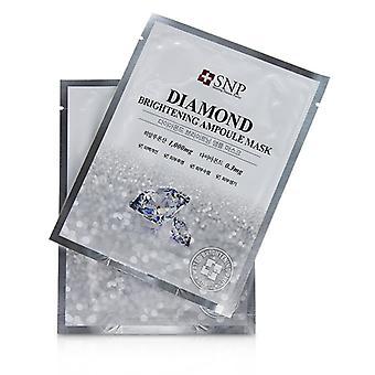 Snp Diamond Brightening Ampoule Mask - 11x25ml/0.84oz