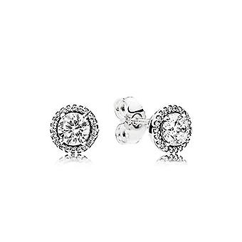 Pandora Silver Women's Stud Earrings - 296272CZ