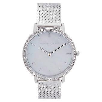 Rebecca Minkoff   Women's Major   Steel Mesh Bracelet   Mother Of Pearl Dial 2200367 Watch
