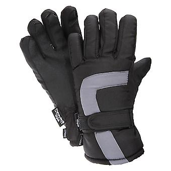 FLOSO Childrens/Kids Padded Water Resistant Thinsulate Thermal Winter/Ski Gloves (3M 40g)