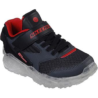 Skechers Boys Arctic-Tron-Zollow Light Up Trainers Shoes