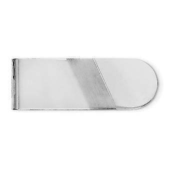 925 Sterling Silber solide Rhodium vergoldet Rhodium vergoldet gebürstet und poliert Geld Clip Schmuck Geschenke für Männer