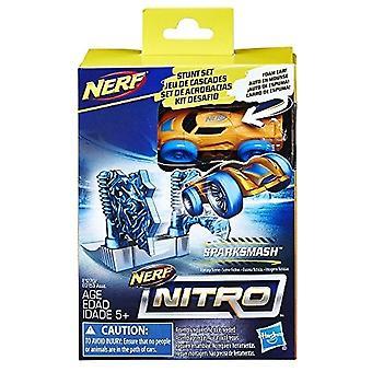 Nerf Nitro SparkSmash Stunt Set