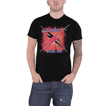 Raven T Shirt Wiped Out Album Band Logo new Official Mens Black