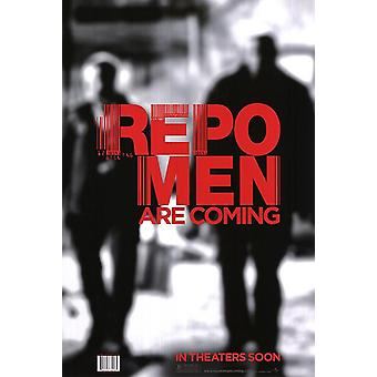 Repo Men Poster - (Jude Law, Forrest Whitaker) Single Sided Advance - Style A Shadows - Us One Sheet (2010) Original Cinema Poster