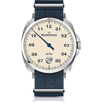 MeisterSinger Men's Watch Classic Plus Metris One-Hand Watch Automatic ME903_SNY04