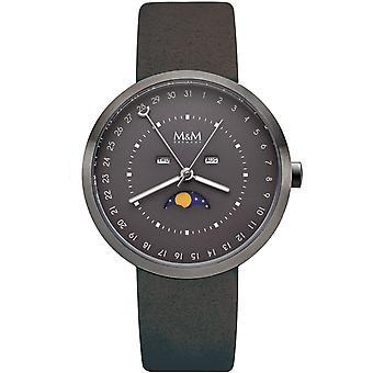 M & M Germany M11949-686 Moon Men's Watch