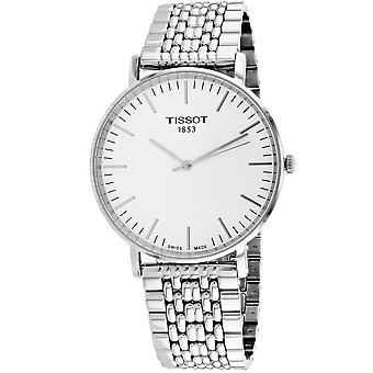 Tissot Men's Everytime Silver Dial Watch - T1096101103100