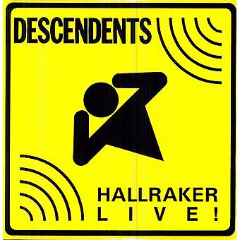Descendants - Hallraker-Live ! [Vinyl] Importation des USA