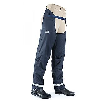 Shires Team Winter Adults Chaps - Navy Blue