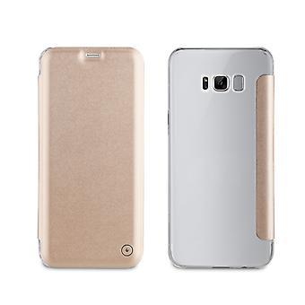 Case For Samsung Galaxy S8 Portefolio Fine And Stylish Gold