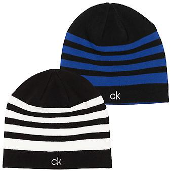 Calvin Klein Mens Golf Stripe Beanie Hat