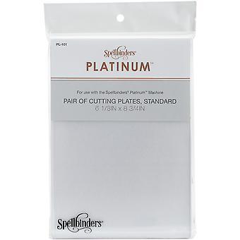 Spellbinders Platinum Standardowe płyty tnące