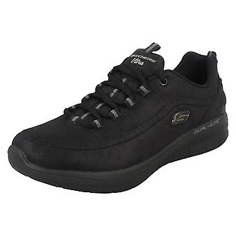 Ladies Skechers Memory Foam Trainers Synergy 2.0 Comfy Up