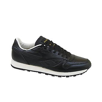 Reebok CL Leather Enhanced V55398 universal all year men shoes