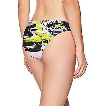 بيكيني مختبر النساء & s هيبستر بيكيني ملابس السباحة، أبيض/ أخبار فلاش، حجم صغير