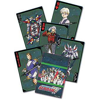 Playing Card - Gundam Wing - New Poker Game Anime Licensed ge85501