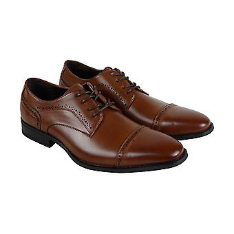 Unlisted by Kenneth Cole Bryce Lace Up Mens Brown Dress Lace Up Oxfords Shoes