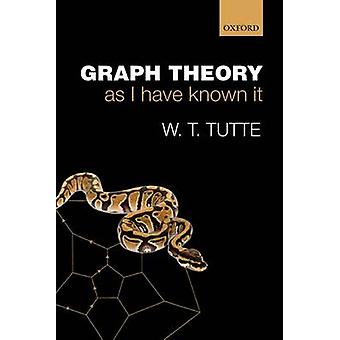 Graph Theory As I Have Known It by W T Tutte
