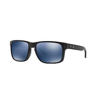 Oakley Holbrook OO9102 52 Matte Black/ICE Iridium Polarised Sunglasses