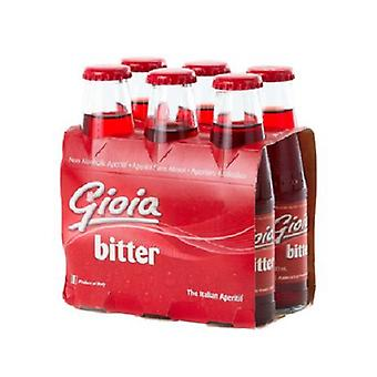 Gioia Bitter Red Aperitif-( 100 Ml X 24 Bottles )