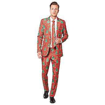 Christmas Red Suit Adult
