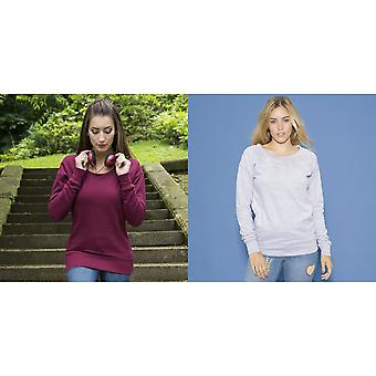 AWDis Hoods Womens/Ladies Girlie Fashion Sweatshirt