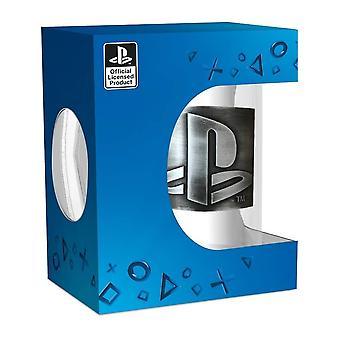 PlayStation Logo Glass Stein