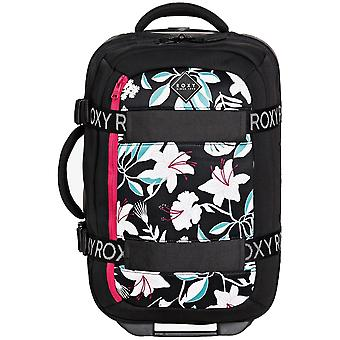 Roxy Wheelie Neoprene Hand Luggage in True Black Story Of Sunshine