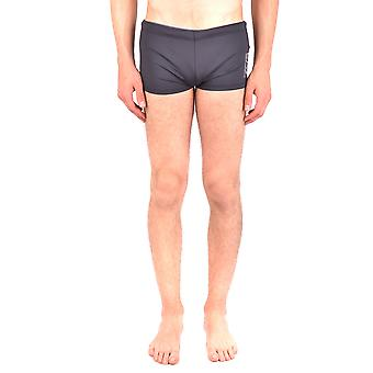 Emporio Armani Ezbc113020 Men's Black Nylon Trunks