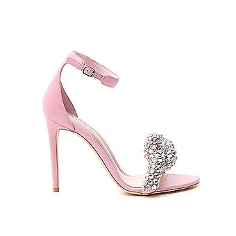 Alexander Mcqueen 586435whv6c5482 Sandalias de cuero rosa