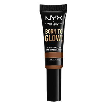 NYX PROF. MAKEUP Born To Glow Radiant Concealer 5.3ml - Cappuccino