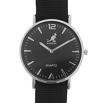 Kangol Mens Quartz Stitched Strap Watch