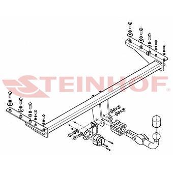 Steinhof Automatic Detach Towbar (Horizontal) pour Subaru LEGACY mk3 1998-2003