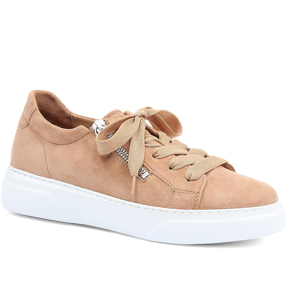 Gabor Sheila Leather Lace-up Trainers
