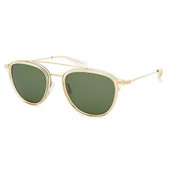 Barton Perreira Courtier BP0014 0KP Champagne-Gold/Green Sunglasses