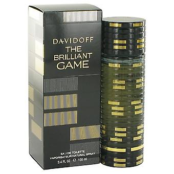 El brillante juego eau de toilette spray de davidoff 518155 100 ml