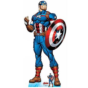 Captain America Official Lifesize Marvel Avengers Cardboard Cutout / Standee
