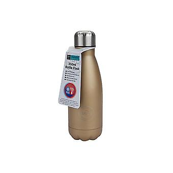 B&Co Bottle Flask Metallic Gold