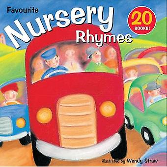 20 Favourite Nursery Rhymes - 20 Book Set by Wendy Straw - 97817822620