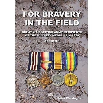 For Bravery in the Field Great War British Army Recipients of the Mil